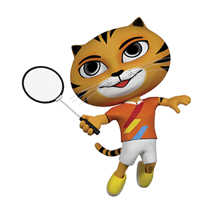 Icon Pictogram SEA Games 2017 Badminton