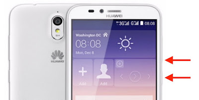 come salvare screenshot huawei y625