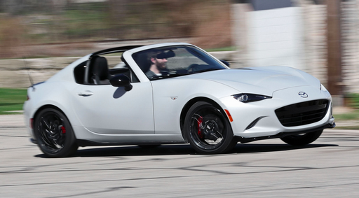 2021 Mazda MX-5 Miata RF Manual Review
