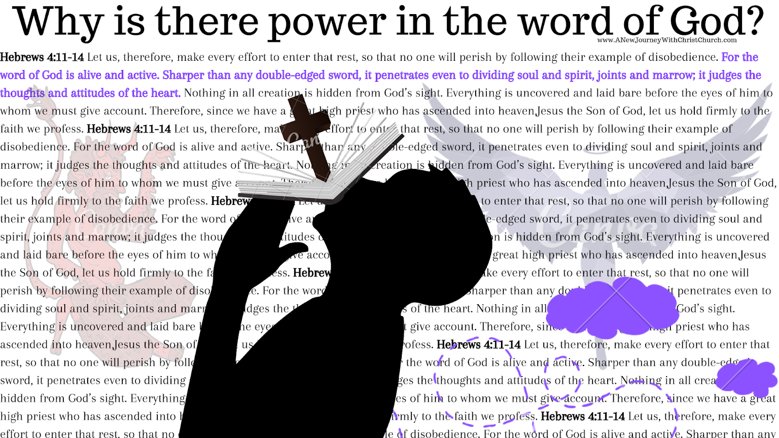 Why is there power in the word of God?