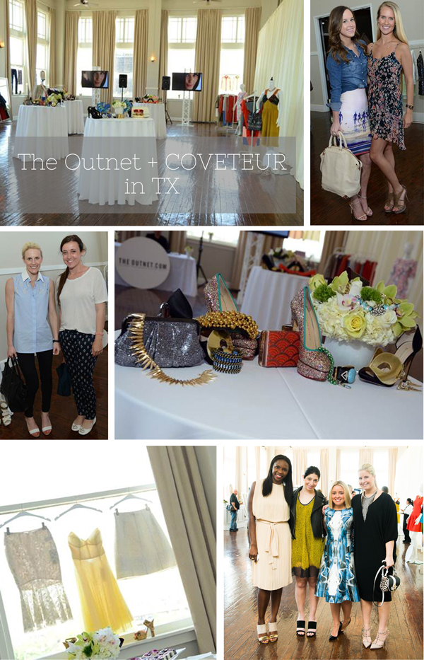 The Coveteur, The Outnet, Room on Main, Dallas Fashion Event, Luella and June, Bag Snob, Sea of Shoes, Courtney Kerr