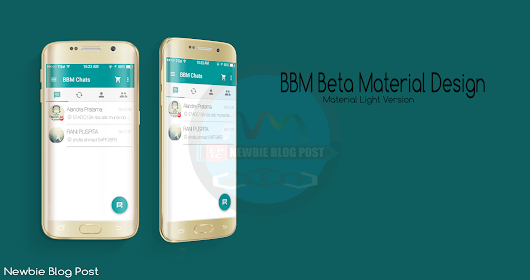 DOWNLOAD BBM BETA MATERIAL DESIGN v.290