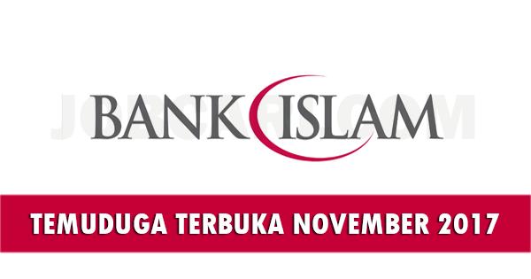 Temuduga Terbuka di Bank Islam