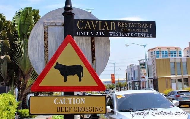 Caviar Restaurant and Champagne Bar, Alabang