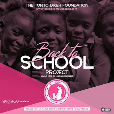 TONTO DIKEH' S BACK TO SCHOOL 2017 PROJECT