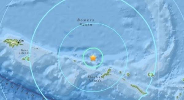 Reportan sismo de magnitud 6.6 en Alaska