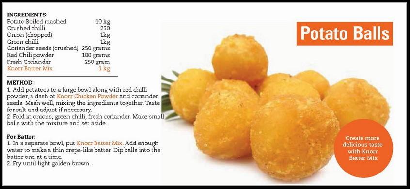 Kokab Khawaja Cake Recipes In Urdu: Delicious Patato Balls Recipe In English