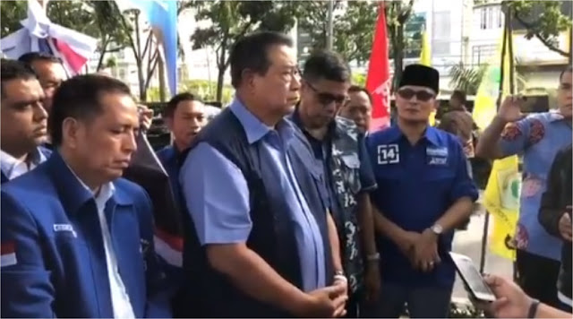 Pernyataan SBY terkait Perobekan Bendera Demokrat di Pekanbaru