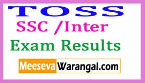 Telangana TS Open School SSC 10th Class Results | TOSS Inter SSC / 10th Class Result