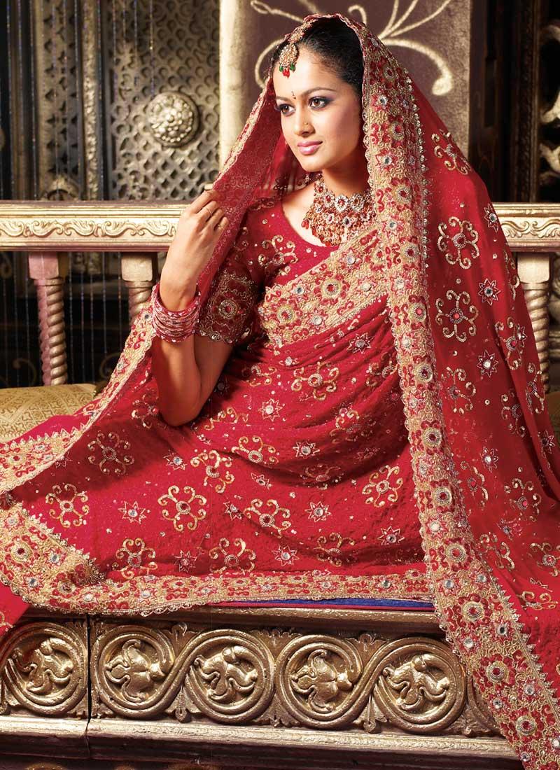 Wedding Saree Dress Up