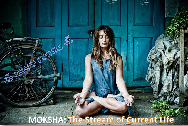 MOKSHA: The stream-current of life