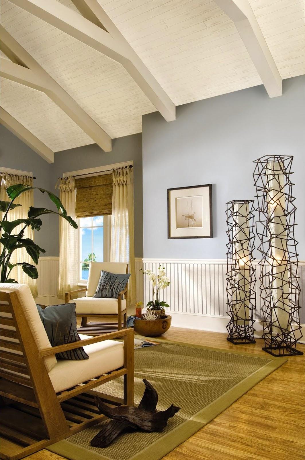 Bright Coastal Living Room
