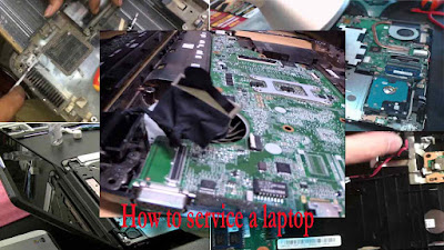 How to service a laptop,service a laptop