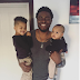 Former BBA contestant and Singer, Tayo Faniran's sons are so cute!