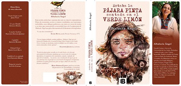 Carátula del libro Estaba la pájara pinta sentada en el verde limón por Hache Holguín