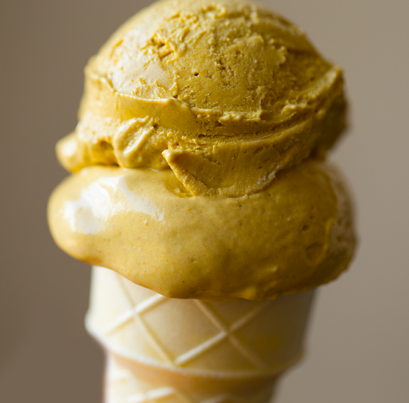 Vegan Pumpkin Ice Cream