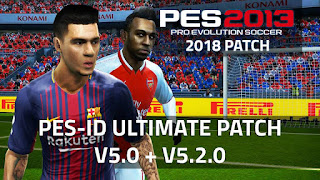 PES 2013 PES-ID Ultimate Patch 2013 v5.0 + v5.2.0 A.I.O [3/2/2018]