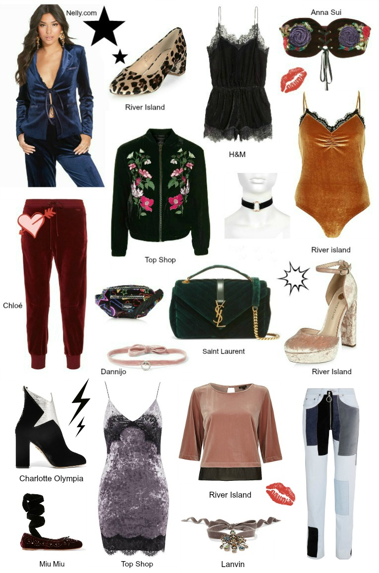 Velvet, Velvet trend 2016