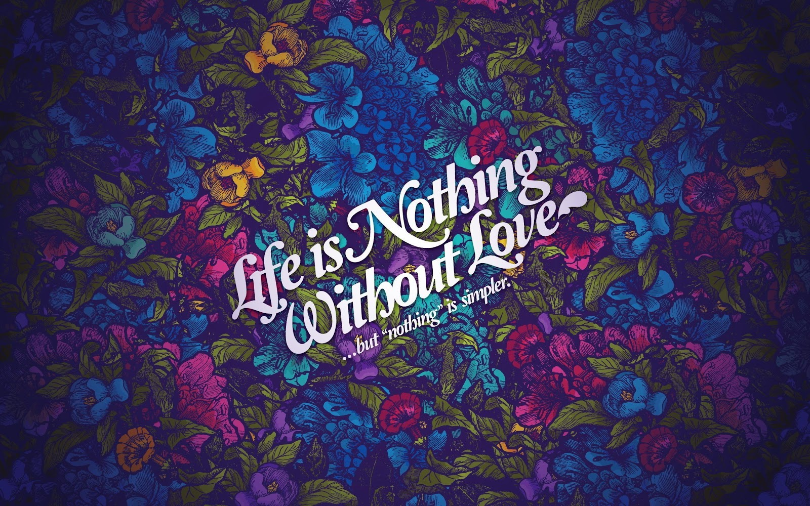 HD Wallpaper Download: Love HD Wallpapers - Life Nothing Without Love