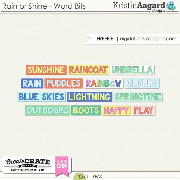 Lucky Penny & Rain or Shine