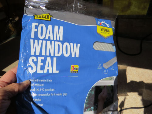 foam window sealing tape