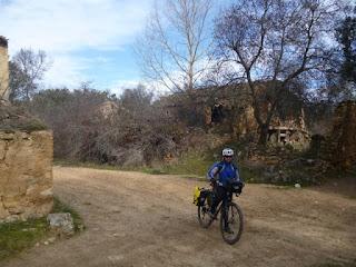 Pueblo abandonado de La Alameda