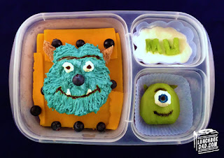 Monsters Inc. kids lunch easy lunch boxes