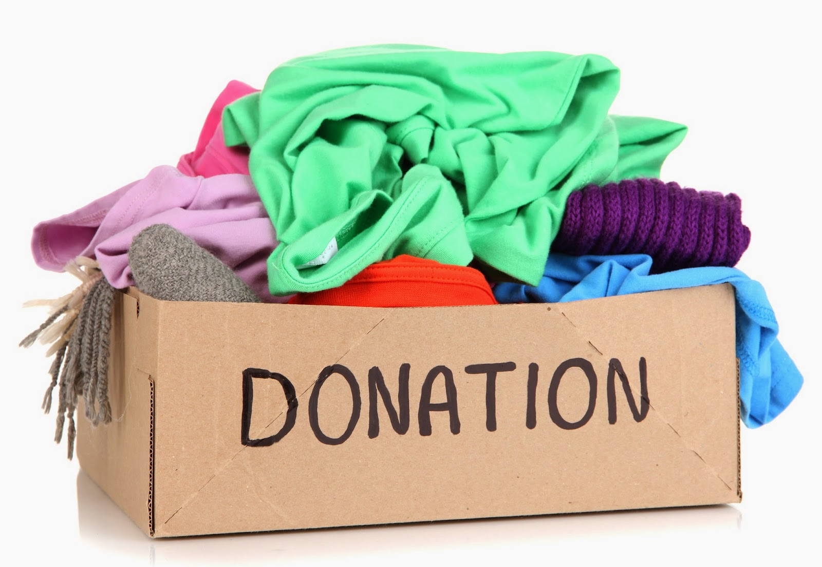 William whyte school coordinating one day clothing drive for Shirts that donate to charity