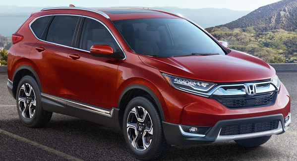 2016 Honda CRV Pricing