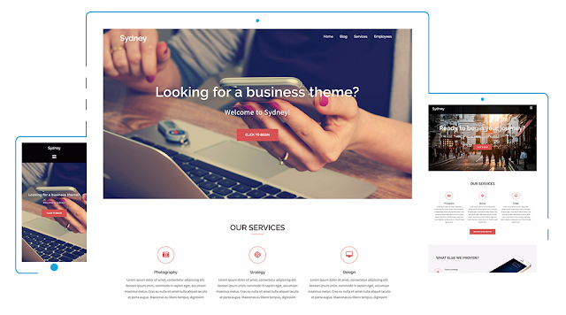 Sydney - Wordpress Themes Responsive