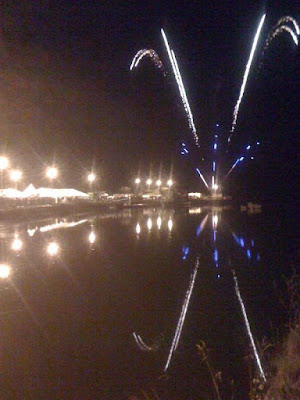 Fireworks at the Donegal Town Food Festival - A Taste Of Donegal - pic by Zack Gallagher