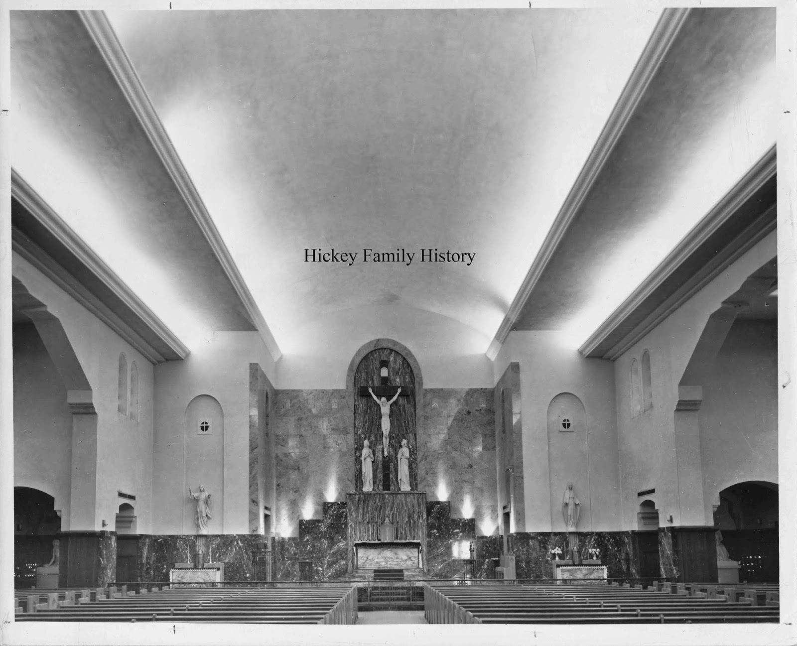 the newspaper clipping below stated that the church was completed in 1929 that is partially correct the school with a chapel inside it was completed