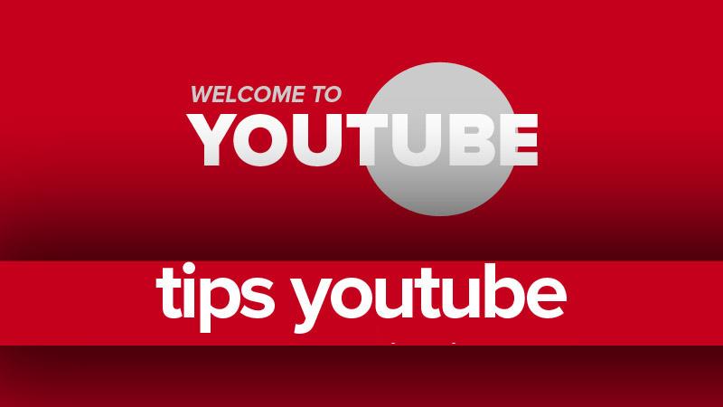 Tips jadi Youtuber