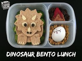 Dinosaur Triceratops Lunch