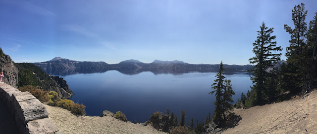 Crater Lake - Long Weekend in Oregon: Flashback Friday — October blogging Challenge Day 9