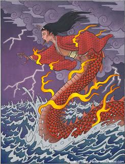 Legenda Naga di Jepang