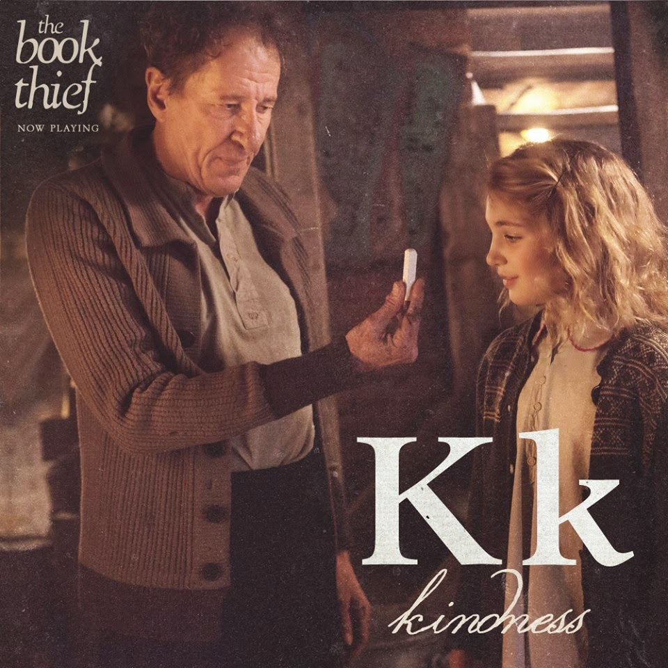 the book thief letters k kindness