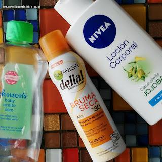 Productos Terminados Delial Sanex Johnson´s Nivea