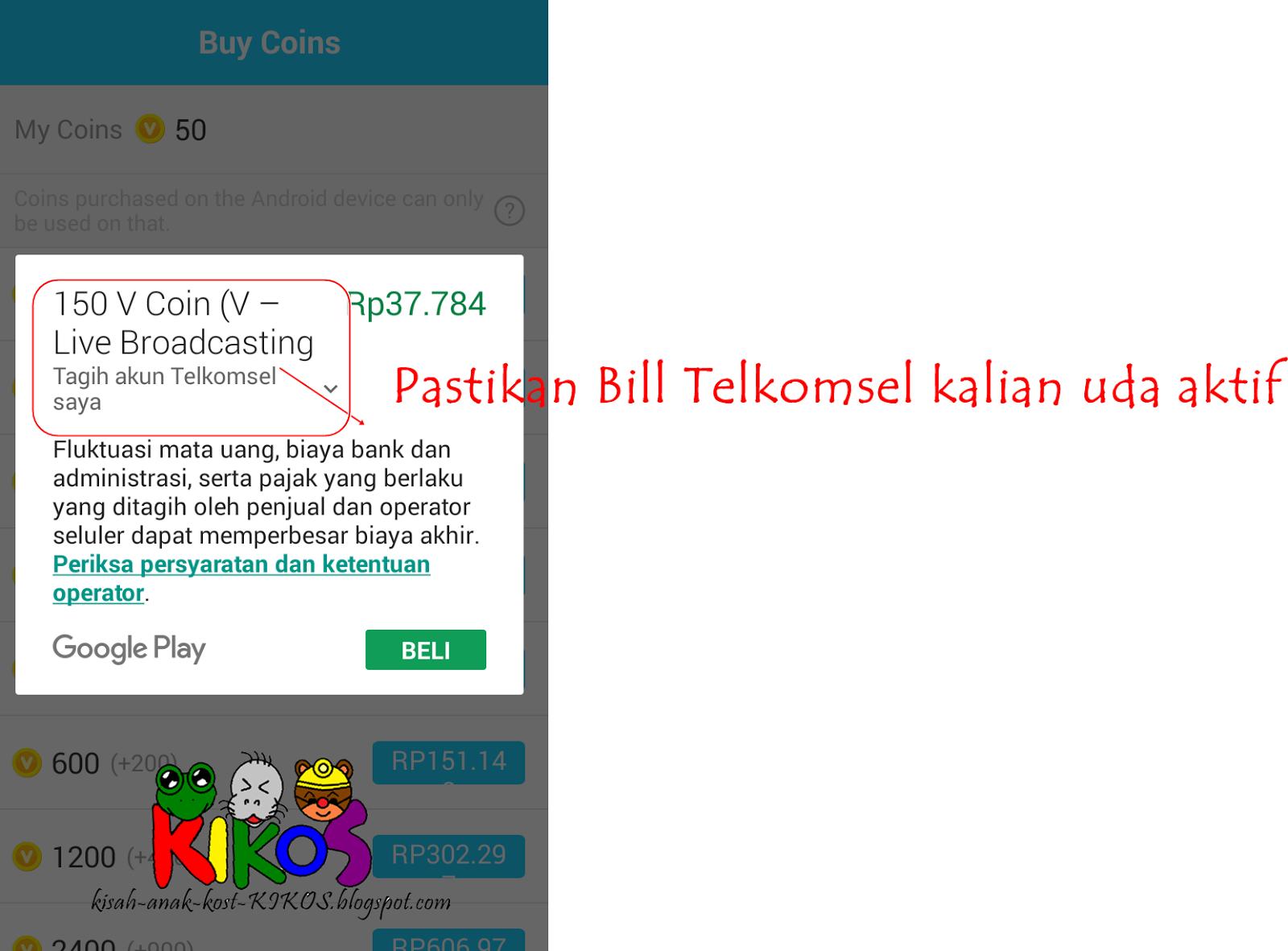 Kisah Anak Kost (KIKOS): (Review V Live Channel+) : Cara