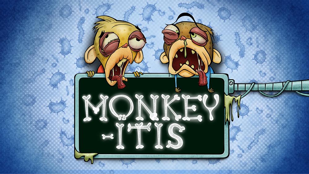 AndrewLucasArt: Rocket Monkeys title cards