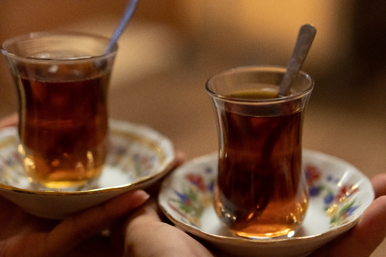The legendary Turkish tea