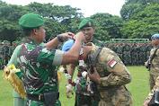 Danrem 162/WB Pimpin Upacara Penyambutan Satgas UNIFIL Konga Tahun 2017