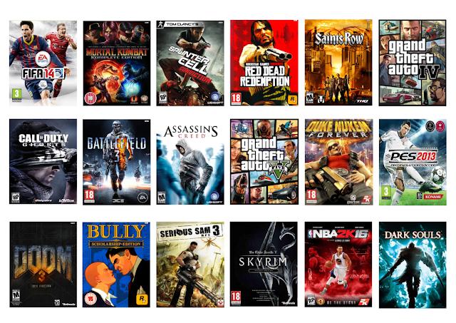 Jogos de PlayStation 3 e Xbox 360