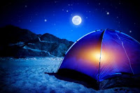 tenda in spiaggia