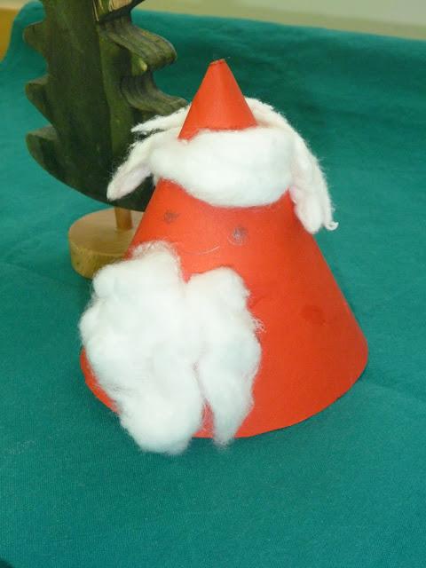 Weihnachten im Advent basteln Nikolaus