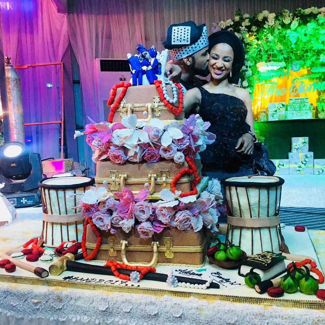 More Photos on Adesua Etomi & Banky W's Traditional Wedding | #BAAD2017