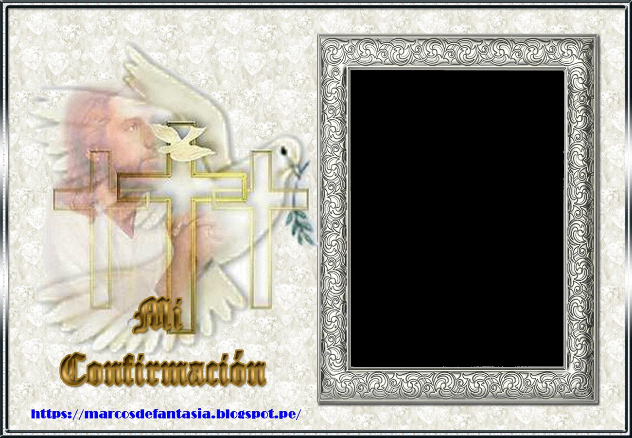 Magnífico Marco De La Imagen De Confirmación Ornamento - Ideas ...