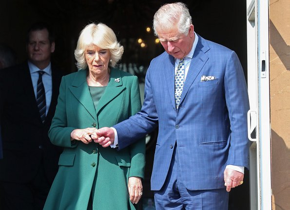 Prince Charles and Duchess Camilla of Cornwall visited Hillsborough Castle in Northern Ireland to re-open the Castle