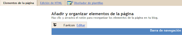 Favicon en Blogger