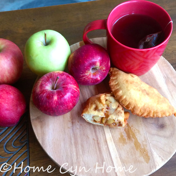 Nothing beats a fried apple pie infused with cinnamon on a cool fall day.